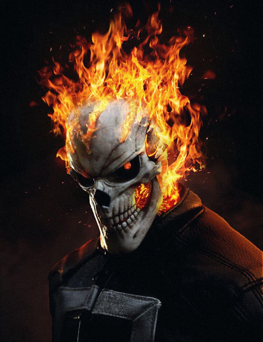 Artstation Agents Of Shield Ghost Rider Aiko Aiham Ghost Rider Wallpaper Ghost Rider Marvel Ghost Rider Tattoo