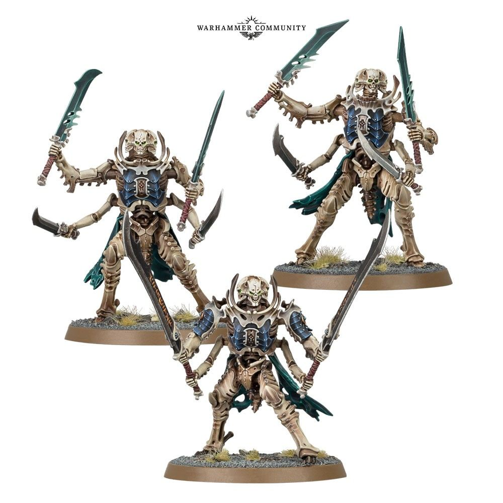 Warhammer Age of Sigmar Ossiarch Bonereapers Morghast Archai