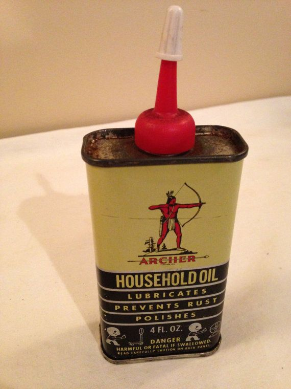 Archer Household Oil Can | Vintage Tin Mania | Vintage oil