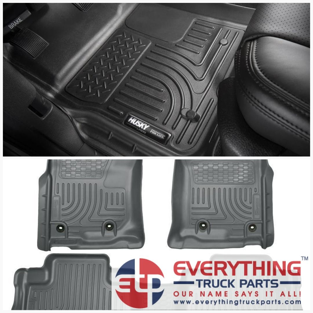 Husky Liners 99572 WeatherBeater Front and Rear Floor