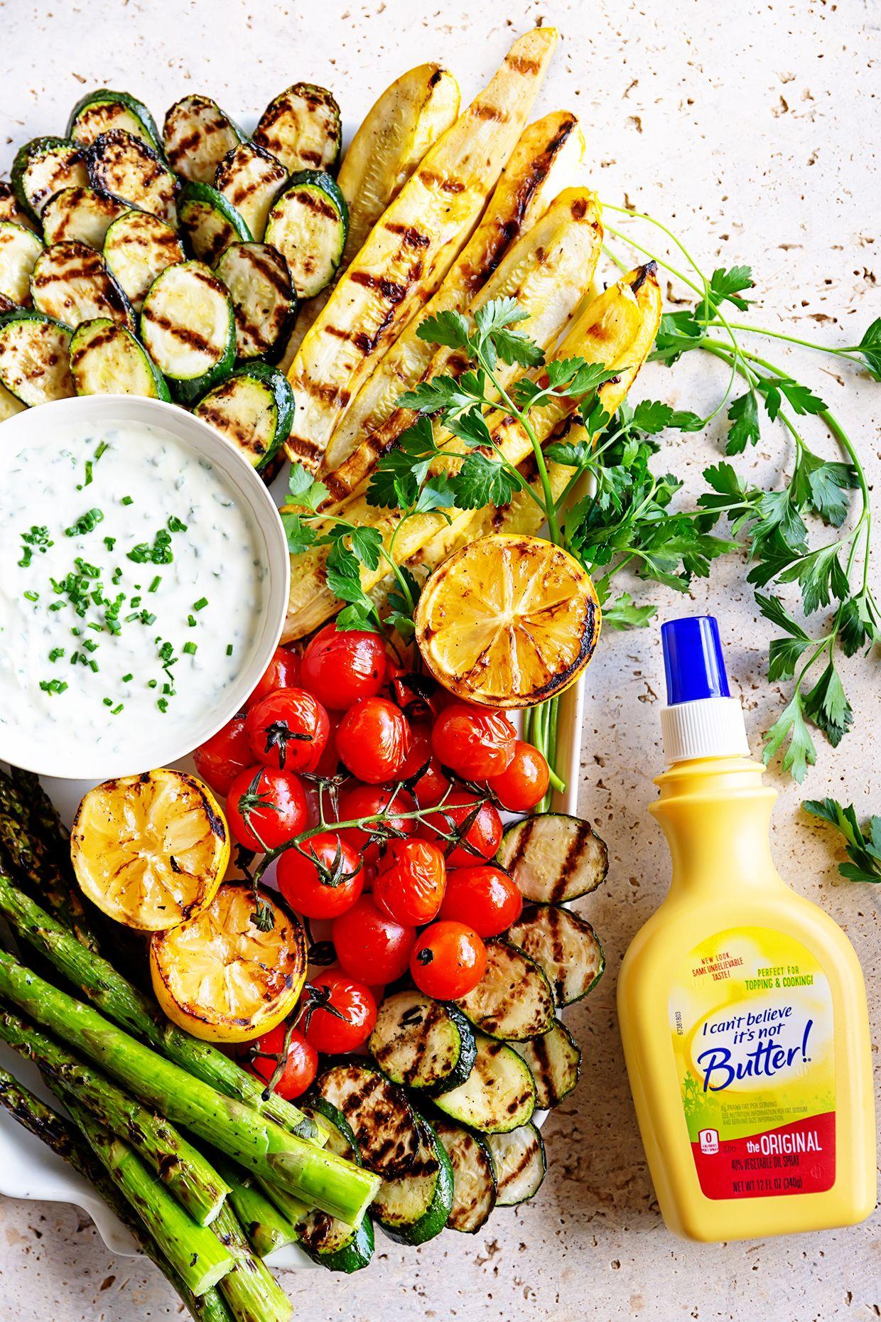 Grilled veggie platter re cipe healthy grilling recipes