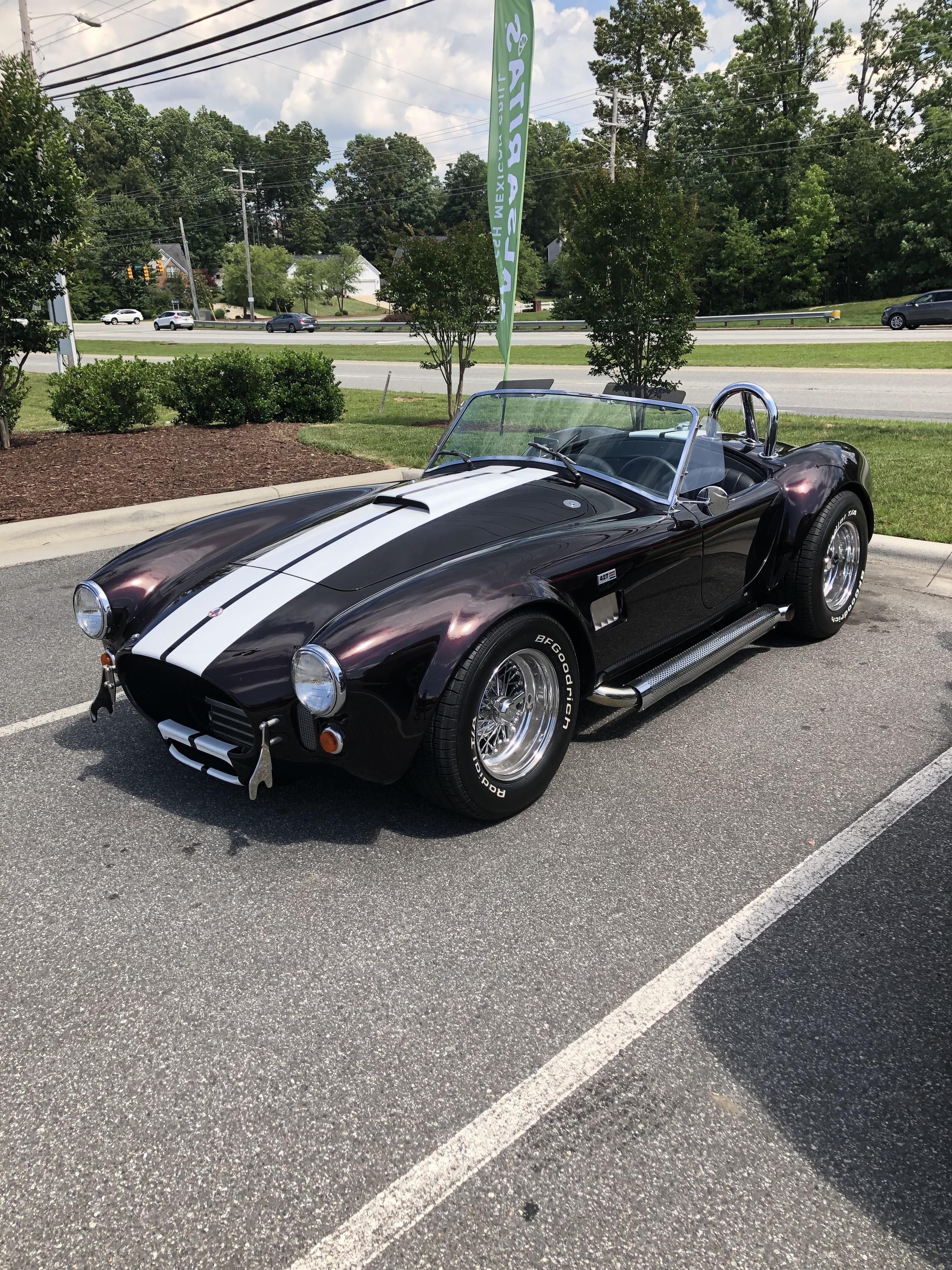 Shelby Cobra I saw driving around Cars Pinterest