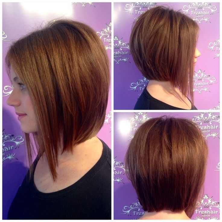 Hairstyles For Round Faces Perfect A Line Bob Cut Hairology