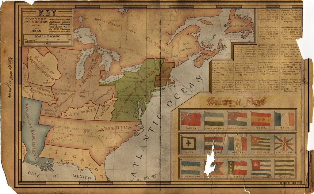 Alternate history maps of America Historical Maps