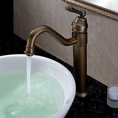 Perinteinen With Oljytty Pronssi Yksi Kahva Yksi Reika Ominaisuus For Keskitetty Bathroom Sink Taps Antique Bathroom Sink Bathroom Basin Taps