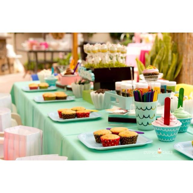 Cuppycake Party Cupcake Bar Setup! ❤