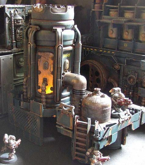 Pin By Mark On 40k Buildings