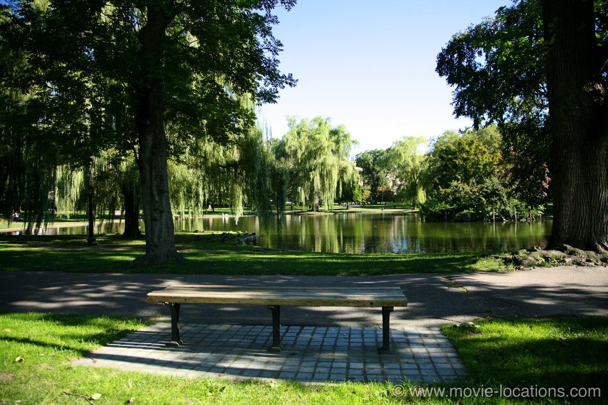 Filming Locations For Good Will Hunting 1997 Public Garden Good Will Hunting Boston Public Garden