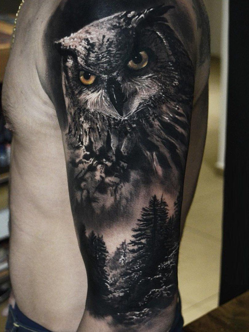 owl tattoo wzory tatua y pinterest eulen. Black Bedroom Furniture Sets. Home Design Ideas