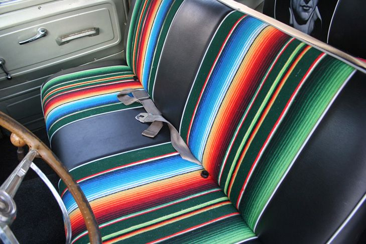Mexican Blanket Seat Ideas Infamous Nissan Hardbody Frontier Forums Truck Interior