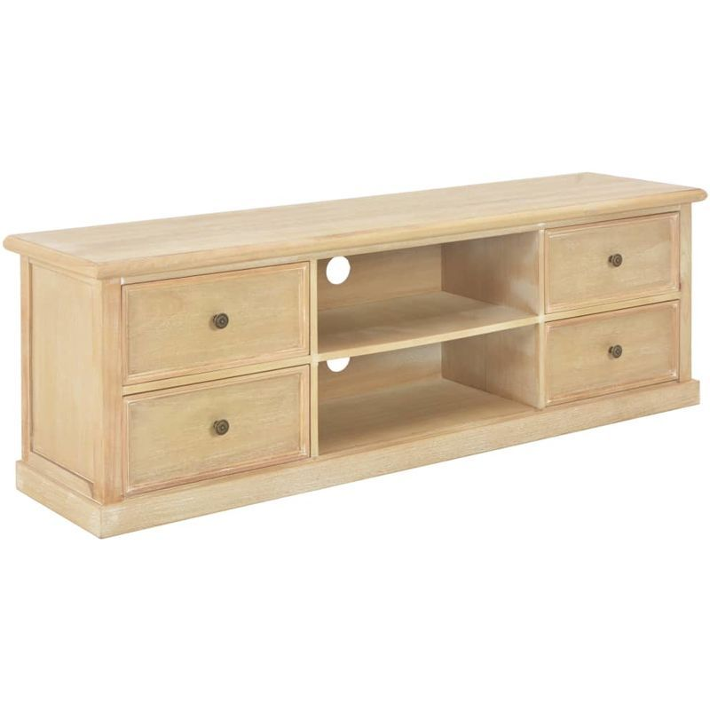 Meuble Tv 120 X 30 X 40 Cm Bois 249893 Furniture Home Decor Storage
