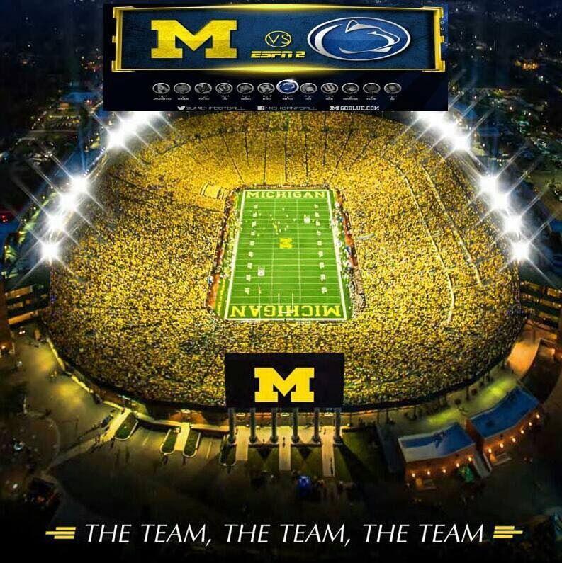 Pin On Michigan Wolverine Football