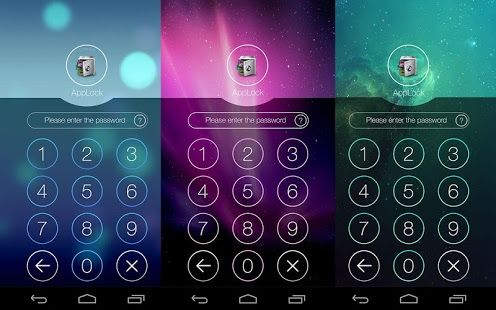 Applock Theme Aurora App Android Android Apps