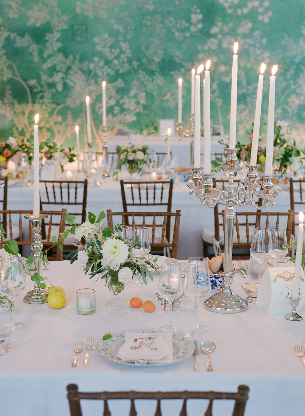 Chloe Richards Rubenstein Wedding Hamptons Vogue 2018 Wedding Reception Tables Hamptons Wedding Fine Art Wedding Photographer