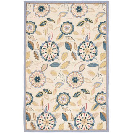 Safavieh Chelsea Cleto Hand Hooked Wool Area Rug, White