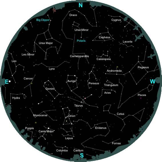 Information About Constellations And How To Identify Them  Black