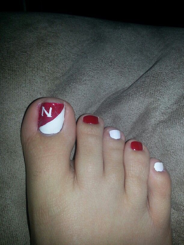 Geh HUSKERS !!!!#geh #huskers in 2020 | Football nail ...