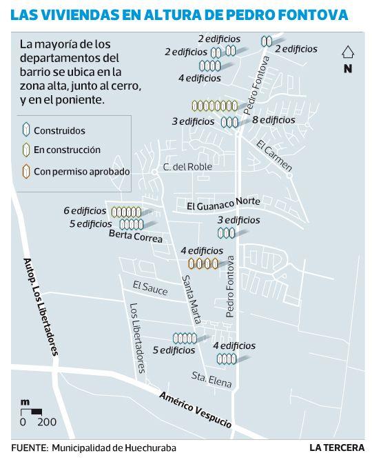 Colapsado barrio de Pedro Fontova tendrá 20 nuevos edificios de departamentos.