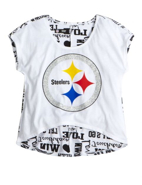Nfl® Pittsburgh Steelers High-low Tee  abc00bc91
