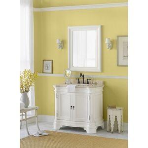"Ronbow R070736F16B2 Le manns 31"" to 44"" Bathroom Vanity - Cream / Cream Beige"