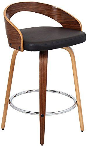Excellent Woybr Csjygrt Wlbn Wood Pu Leather Grotto Counter Stool Short Links Chair Design For Home Short Linksinfo
