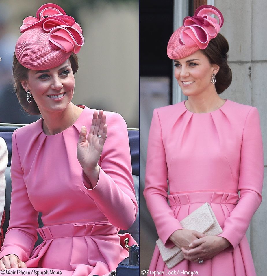 Kate Middleton Duchess Catherine of Cambridge wearing Alexander ...