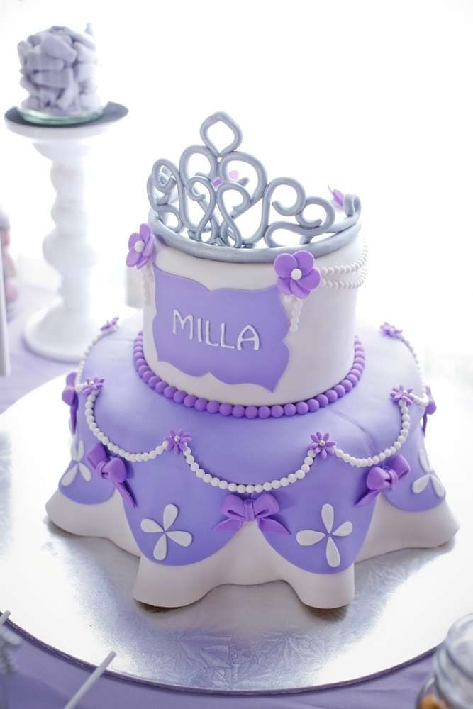 Sophia the First Birthday Party Ideas Gorgeous cakes ...