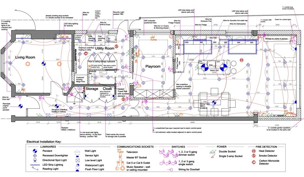 Electrical \ Lighting Drawings Rcp lighting plans Pinterest - fresh blueprint maker website