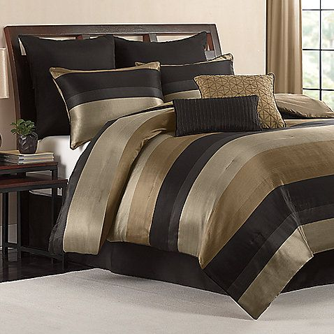 Hudson 8 Piece California King Comforter Set Bedroom