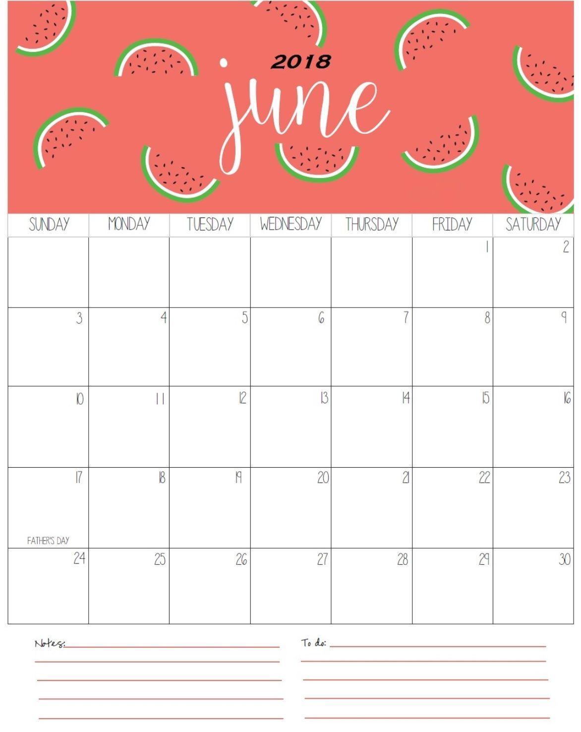calendar 2018 with holidays printable