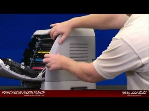 Hp Color Laserjet 2600n Transfer Belt Kit Instructions Instructional Video Instruction This Or That Questions