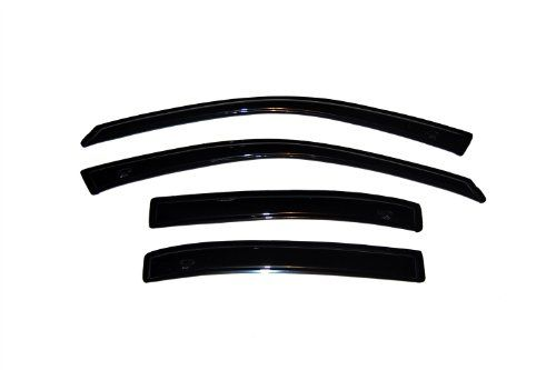 AVS 896005 Tape-On Low Profile Ventvisor Smoke Front /& Rear Window Deflectors