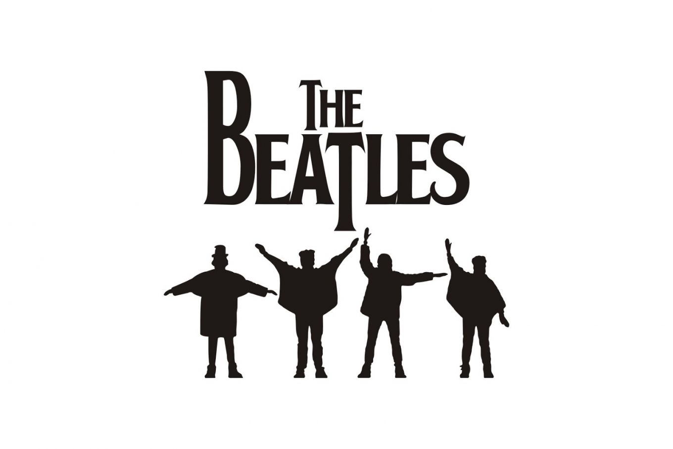 Image For Image Of The Beatles Logo Hd Picture Beatles Music The Beatles Vinyl Artwork