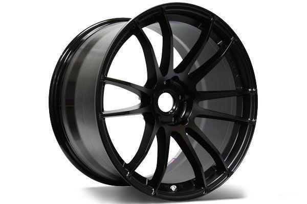 Gram Lights 57xtreme 18x10 5 Rim Size 22 Offset 5 114 3 Bolt Pattern Black Wheel Cj Spec Mitsubishi Evolution Black Wheels Evolution X Bolt Pattern