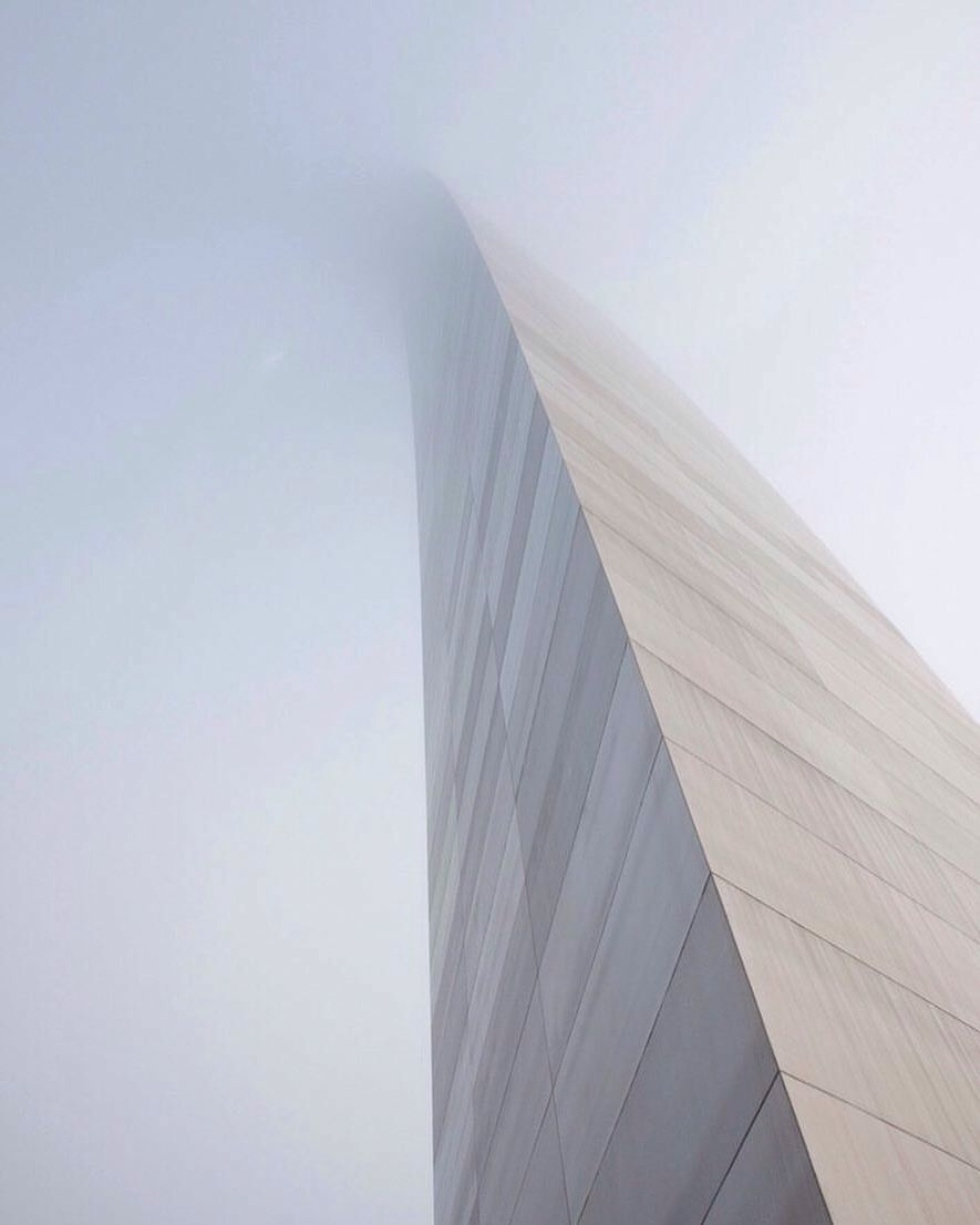 St Louis Arch in fog  Amazing photos and scenery  Pinterest