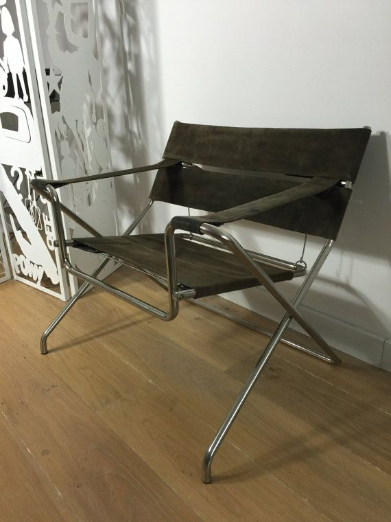 Marcel Breuer D4 For Tecta Bauhaus Foldable Leather By