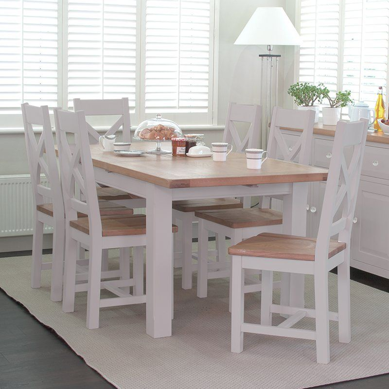 You'll love the Olivier Extendable Dining Table and 6 ...