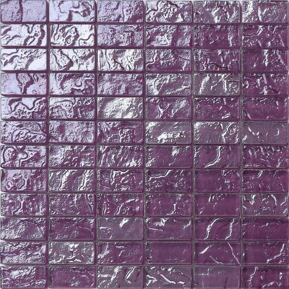 Mosaic tiles Materials: Glass Colours: Purple Suitable for bathroom ...