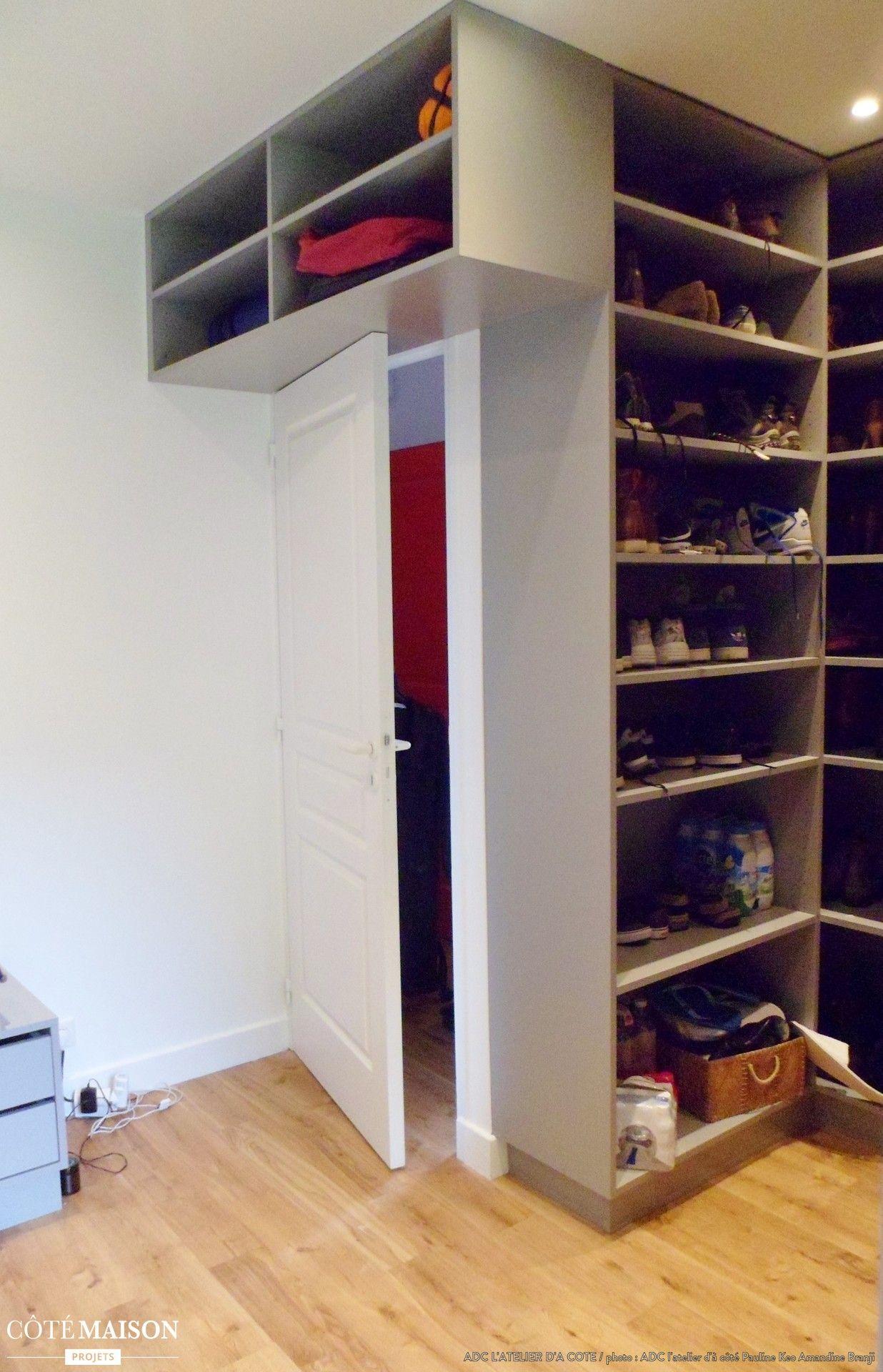 Un dressing rien que pour des chaussures