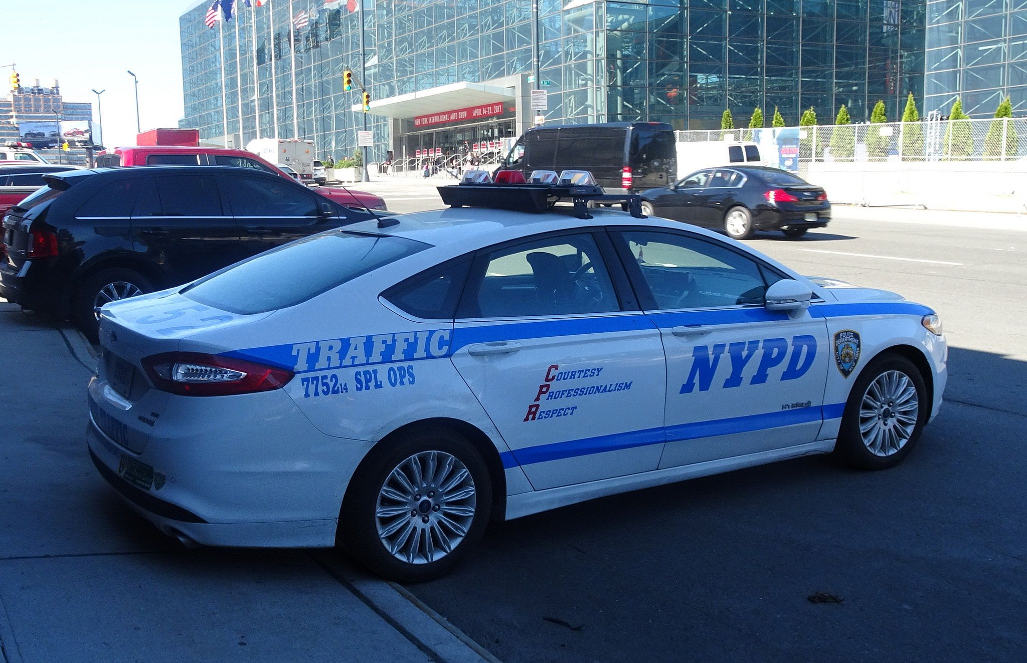 Nypd 2014 Ford Fusion Hybrid 7752 Traffic 2 Ford Fusion