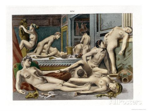 Ancient Times, from De Figuris Veneris by F.K Forberg, Engraved by <b>...</b>