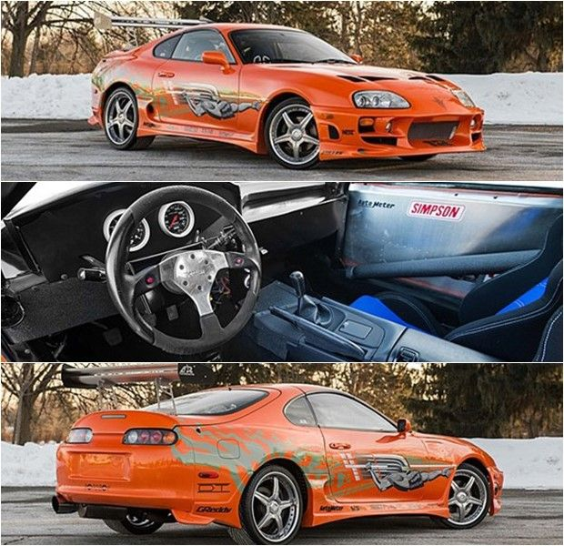 SOLD! The Toyota Supra From The First Fast And Furious