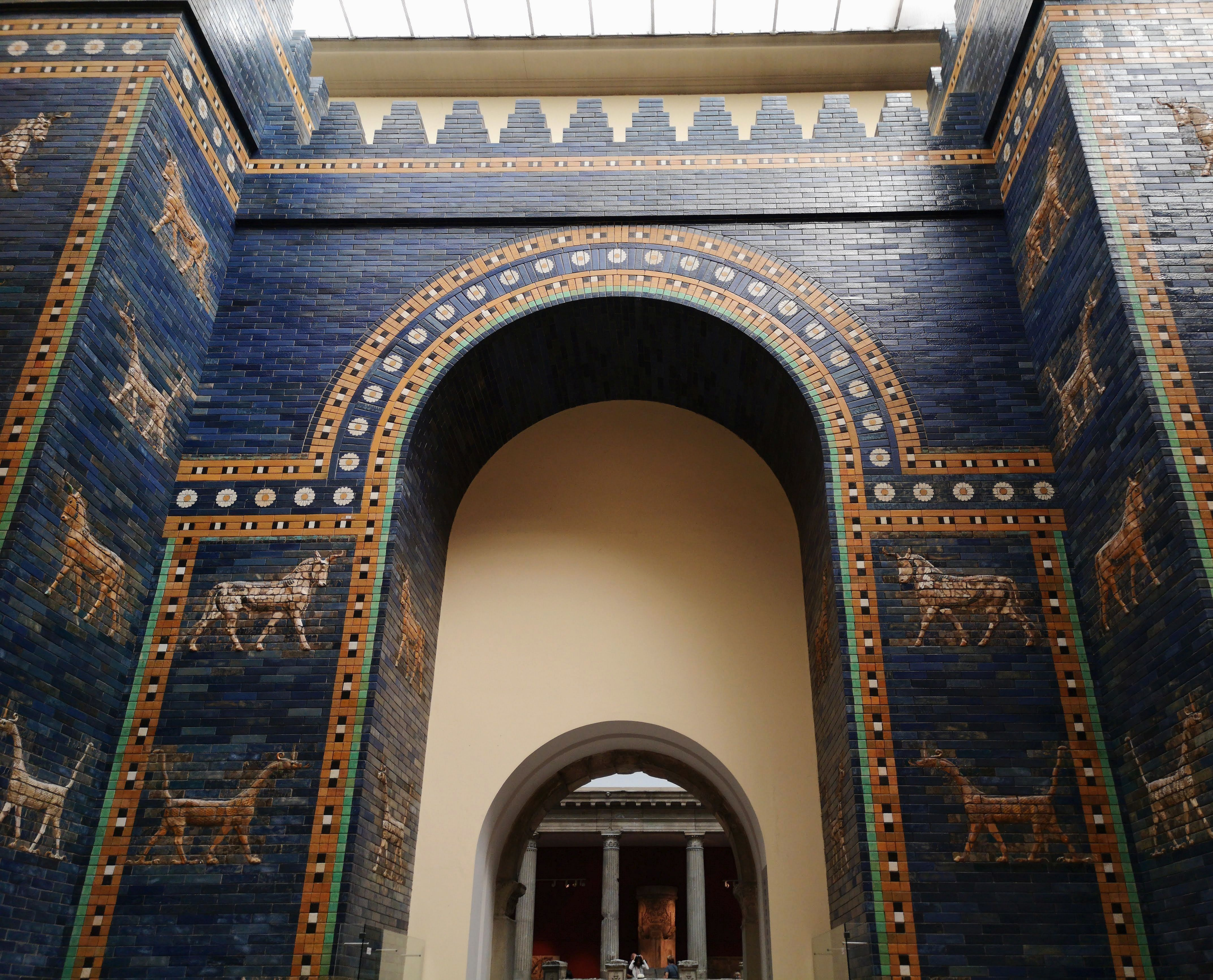Ishtar Gate The Eighth Gate To The Inner City Of Babylon Constructed In About 575 Bce By Order Of King Nebuchadnezzar Ii To In 2020 Pergamon Museum Pergamon Babylon