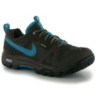 Nike Lady Rongbuk GORE-TEX Waterproof Walking Shoes - 6.5 - Blue Nike.  $87.48