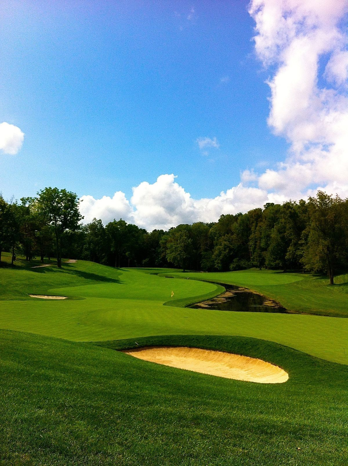 Muirfield Village Dublin, Ohio. Par 5 5th. (With images ...