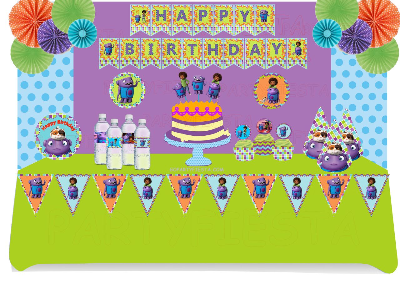 Oh Home Movie Party Pack GoPartyFiesta jahniyah birthday