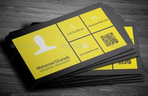 Creative Lumia Corporate Business Card Creative Inspiration - Beautiful business card templates