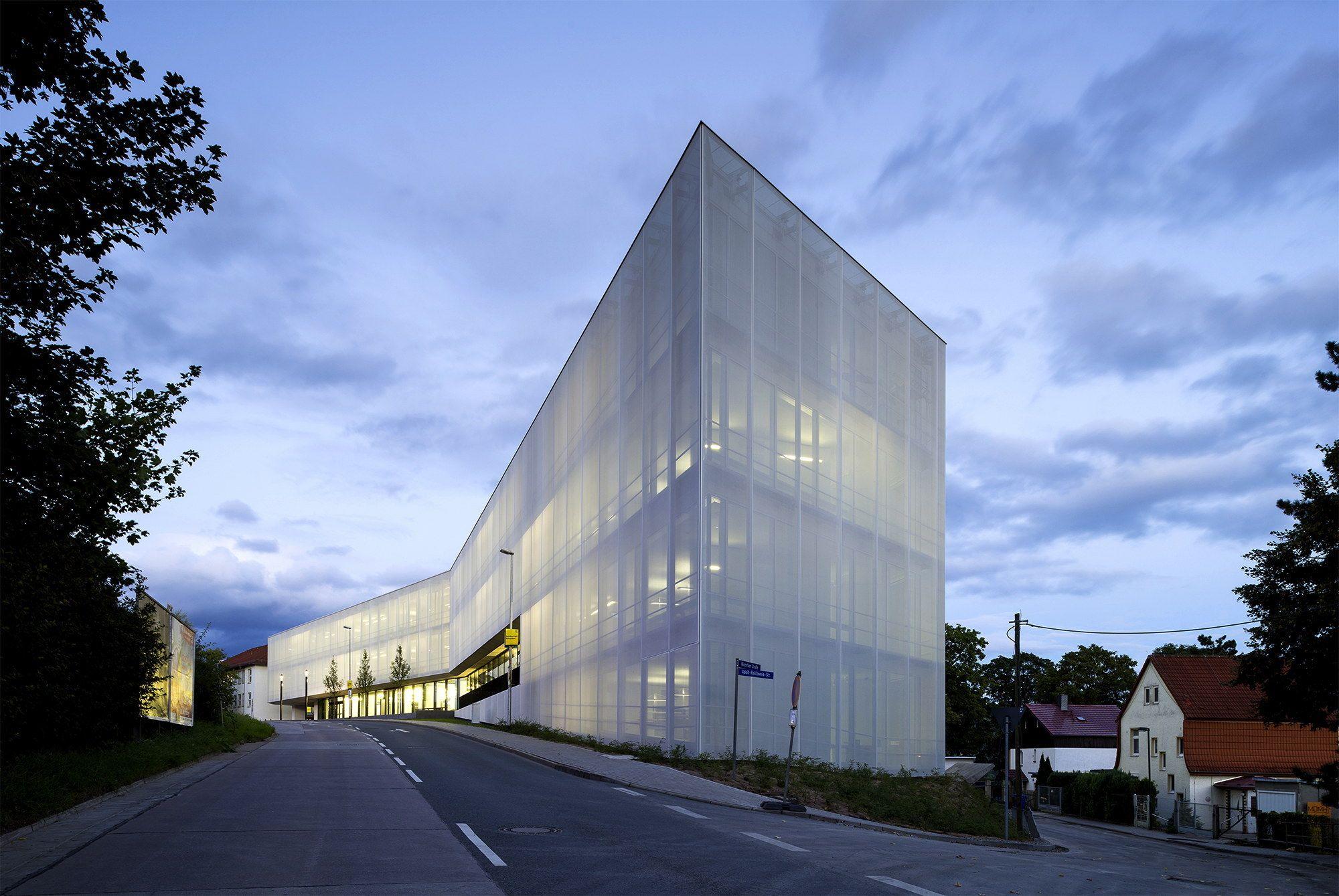 Architekten Jena ungewohnt aufgeräumt institut in jena jena facades and architecture