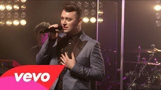 Sam Smith - I'm Not The Only One (Live) (Honda Stage at the iHeartRadio Theater) - YouTube