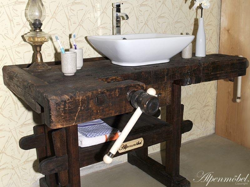 Antike Waschtische alpenmöbel waschtisch - mit viel liebe zum detail wird eine antike